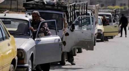أزمة الوقود تشل حركة دمشق وتخفيض كميات البنزين المقدمة إلى درعا