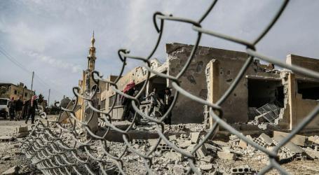 السلطة السورية تفجّر منازل البحارية في الغوطة الشرقية