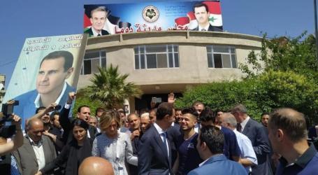 لماذا اختار الأسد مدينة دوما ليدلي بصوته في الانتخابات؟