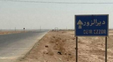 الميليشيات الإيرانية تنقل أسلحتها في دير الزور