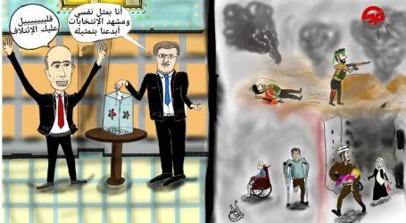 مجهولون يطعنون رسامة سورية بريف حلب انتقدت الائتلاف