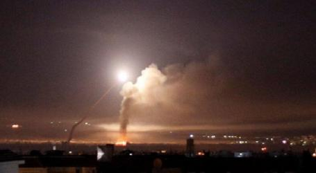 القصف الإسرائيلي يشعل النيران في موقع عسكري للميليشيات الإيرانية بالقنيطرة
