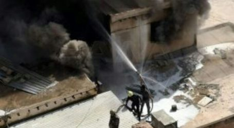 دمشق تشهد أضخم حريق خلال العام يوقع ضحايا وأضرار كبيرة