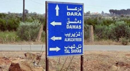 السلطة السورية تمطر أحياء درعا بالقذائف بعد فشل الاتفاق