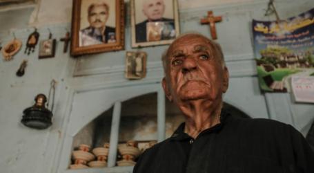 المسن ميشيل بطرس آخر مسيحي في إدلب.. إليكم قصته
