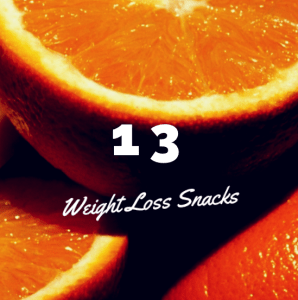 13 weight loss snacks