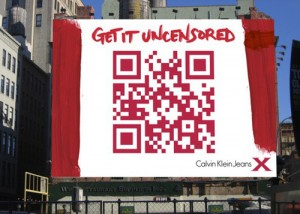 Calvin Klein QR Ad