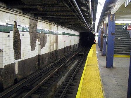 Subway Station Falling Apart