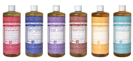 Dr. Bronner's Magic Soaps!