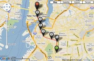 Bike Ride GPS Map