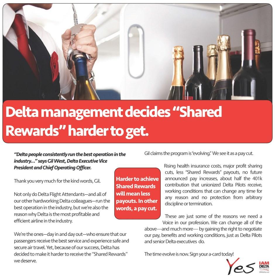 DL FA Shared Rewards Cut