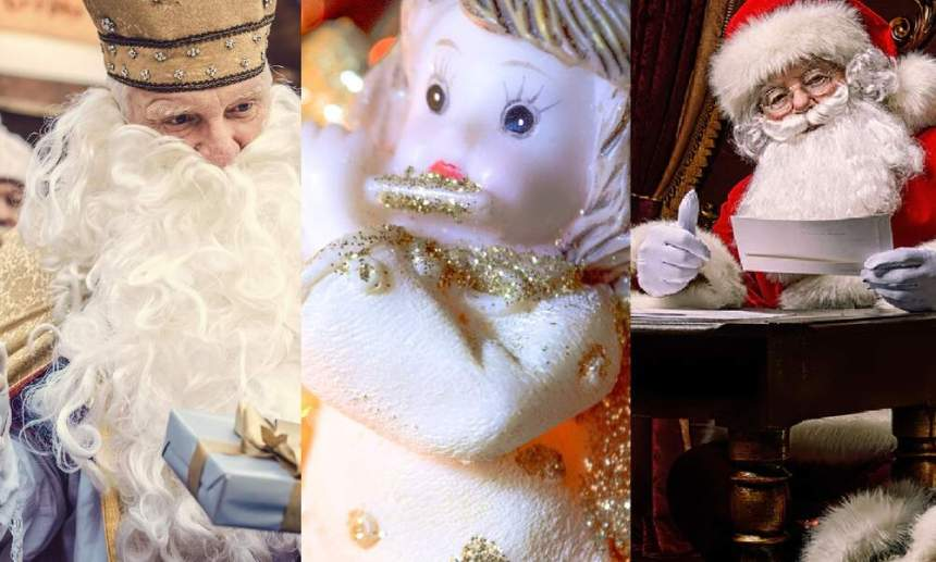 Nikolaus, Weihnachtsmann, Christkind: What's the difference?