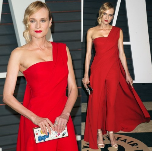 The 87th Annual Oscars - Vanity Fair Oscar Party at Wallis Annenberg Center for the Performing Arts and The Beverly Hills City Hall Featuring: Diane Kruger Where: Los Angeles, California, United States When: 22 Feb 2015 Credit: Brian To/WENN.com