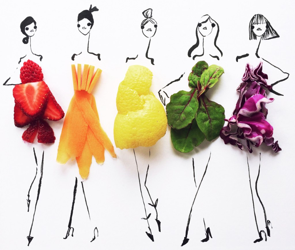 FASHION FOOD: FRUIT AND VEGETABLE CLOTHS ARE VIRAL