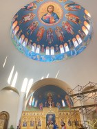 Angiography under construction - Sts. Constantine & Helen, Greek Orthodox Church of Washington DC
