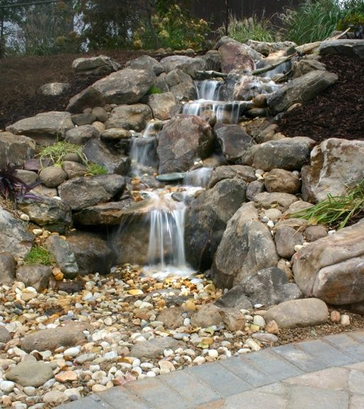 How Build Backyard Waterfall