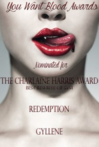 Redemption Gyllene - THE CHARLAINE HARRIS AWARD
