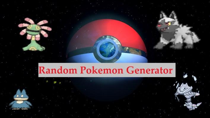 Random Pokemon Generator