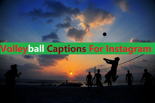 Volleyball Captions For Instagram