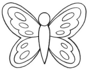 Butterfly - Step by Step Guide to Draw
