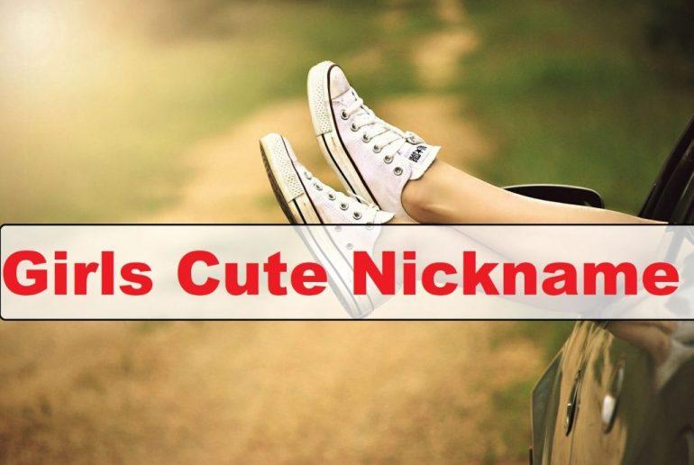 Girls Cute Nickname