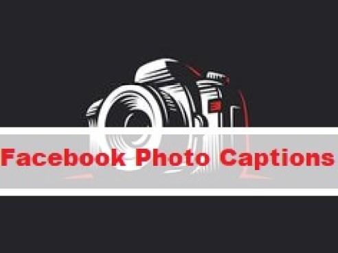 Facebook Photo Captions