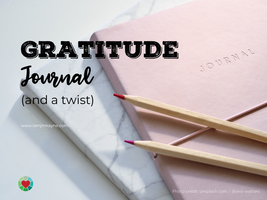 Gratitude Journal and a twist - iamjmkayne.com