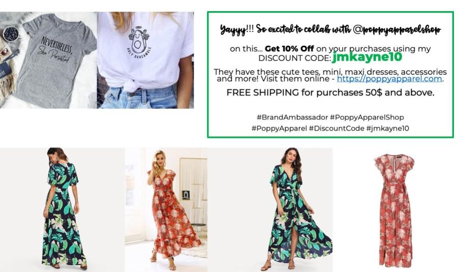 Poppy Apparel at iamjmkayne.com jmkayne10 discount.jpg