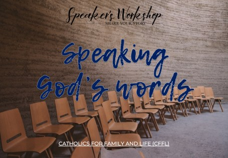 Speaking Gods Words - Speakers Workshop Free Online Course