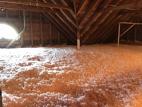 Attic_Day2_2 & Insulating the Attic + Misc. Fall Projects - I Am Katie Jo