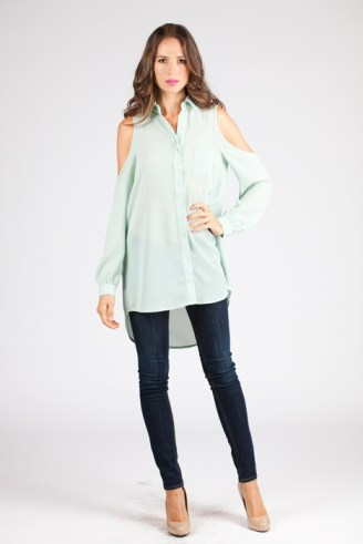 Mint Isabel Tunic