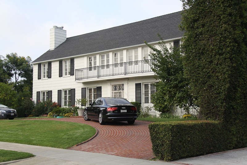Lana Turner's Former House -The Johnny Stompanato Murder