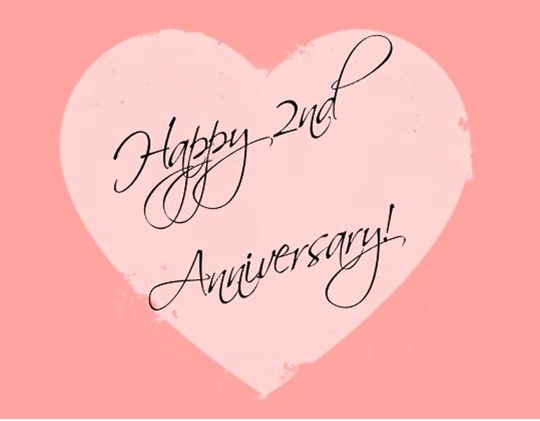 My Second Anniversary! - IAMNOTASTALKER