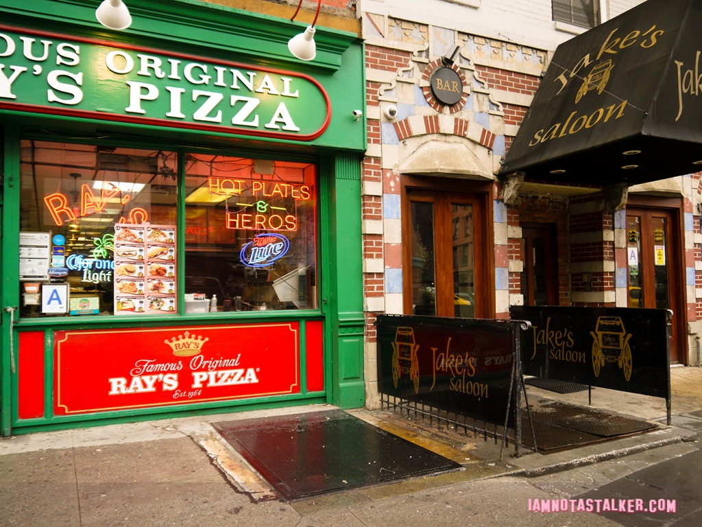 Pizza by the slice sex in the city