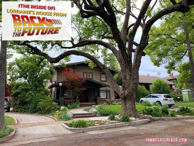 Lorraines House from Back to the Future 25 of 28 2 thumb - Cenas raras dos locais de gravação do filme De Volta para o Futuro
