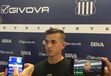 Andrés Cubas habló tras la victoria de Talleres
