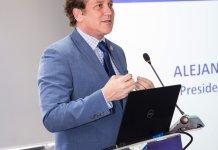 Alejandro Domínguez habló sonre la candidatura al Mundial 2030
