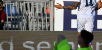 Joaquín Correa metió un gol para Lazio