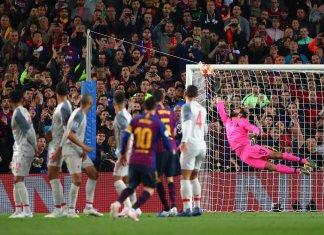 Doblete de Messi para Barcelona