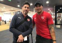 Pablo Pérez celebró el triundo de Independiente