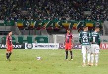 San Lorenzo cayó con Palmeiras
