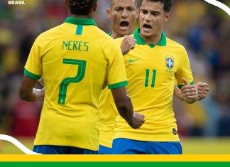 Brasil aplastó a Honduras