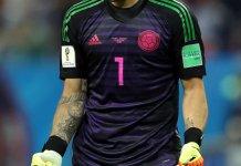 David Ospina palpitó el duelo entre Colombia y Argentina