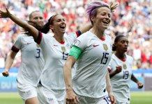 Estados Unidos se quedó con el Mundial de Francia