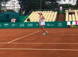 Nadia Podoroska está en la final