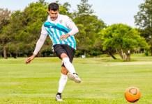 Se juega el 250 argentino de footgolf