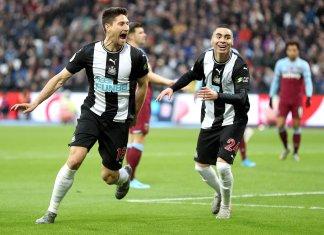 Gol de Federico Fernández para Newcastle