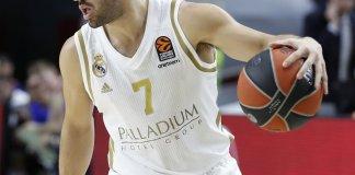 Facundo Campazzo brilló en Real Madrid