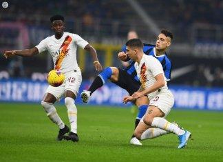 Inter igualó con Roma