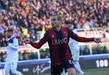 Rodrigo Palacio convirtió para Bologna